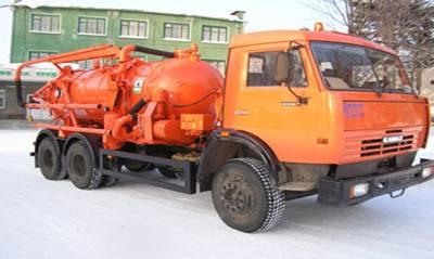 Ассенизатор, откачка канализации, септика — Самара