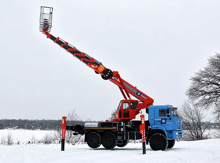 Аренда автоподъёмника телескопического КаМАЗ Вездеход, Оренбург