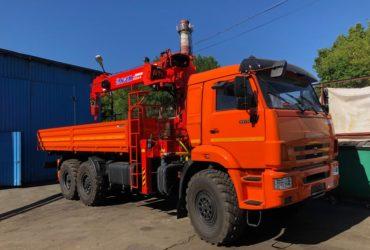 Услуги кран-манипулятора Камаз-вездеход 7 тонн, Пенза
