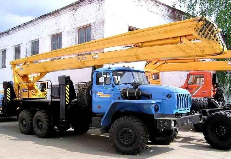 Автовышки (автогидроподъемники) АГП-22 в аренду, Москва