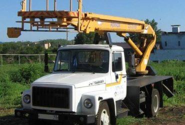 Аренда автовышки (мехрука, АГП), услуги крана 25 тонн, Самара