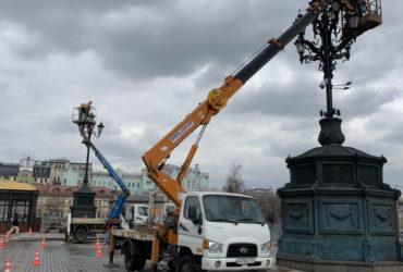 Аренда автовышки в Москве и Московской области