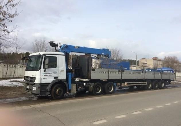 Манипулятор 20 тонн с полуприцепом, длинномер — Москва и Московская область