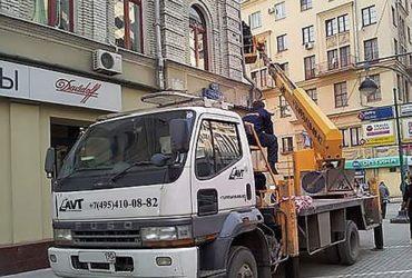 Услуги автовышки, Москва и Московская область