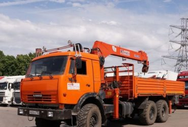 Манипулятор (автовышка) вездеход 10 т — Москва и Московская область