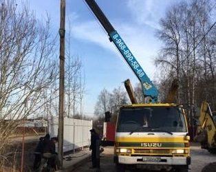 Услуги манипулятора и автовышки в Наро-Фоминске (Москва и Московская область)