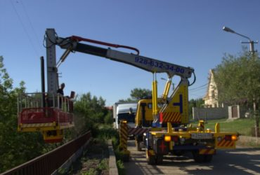 Аренда мостовой автовышки, Москва и Московская область