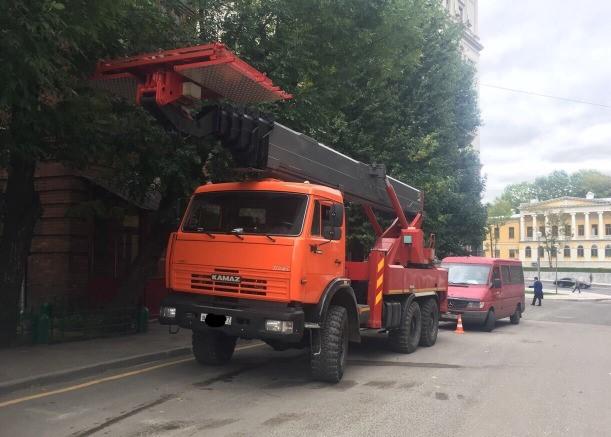 Аренда автовышек в Москве и Московской области — 16, 24, 30, 42, 47 м