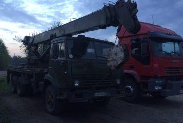 Автокран 16 тонн и экскаватор — Московская область, Ликино-Дулёво