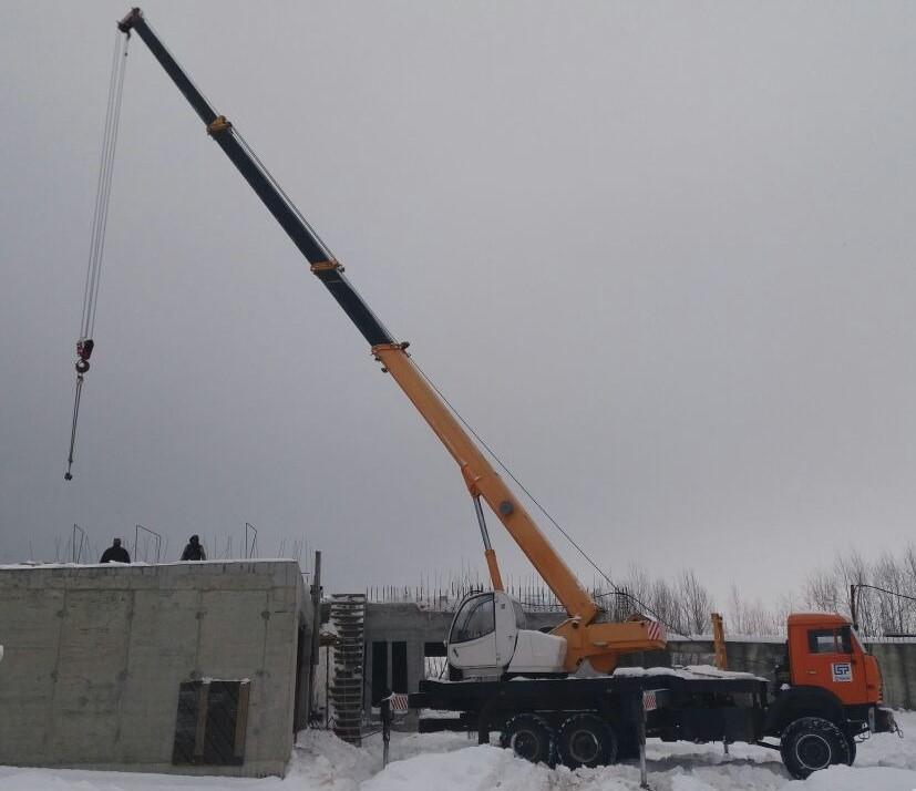 Аренда автокрана 25 тонн, 32 метра — Московская область, Солнечногорск