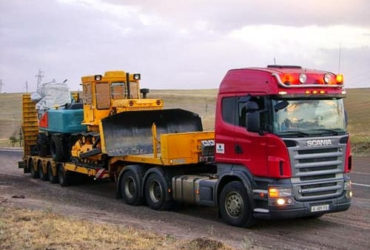 Трал низкорамный, перевозка тракторов — Москва и Московская область