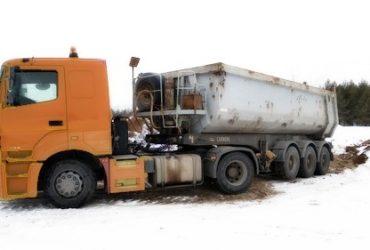 Аренда самосвала, вывоз мусора, доставка — Москва и Московская область