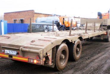 Трал попутно до 90 т, перевозка негабаритных грузов — РФ, Москва и Московская область