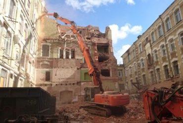 Экскаватор-разрушитель в аренду (21 метр), Москва и Московская область