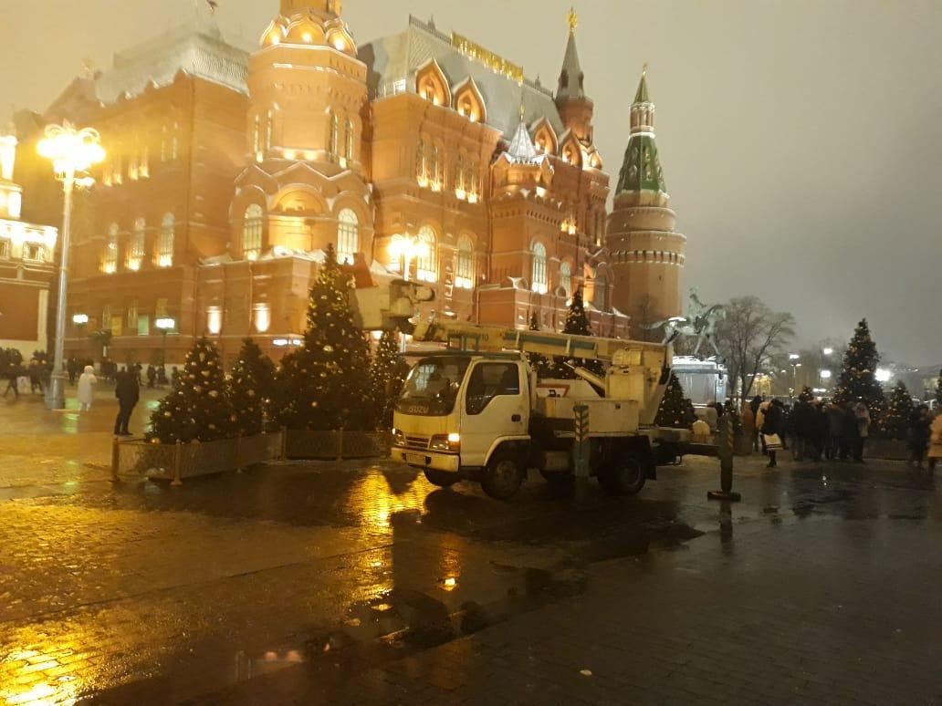 Услуги автовышки в Москве и области