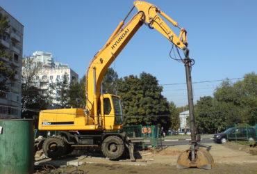 Аренда экскаватора, грейфера, молота — Москва и Московская область