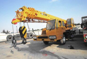 Аренда автокрана 16 тонн XCMG QY16, Крым